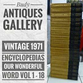 Vintage Encyclopedias Our Wonderful World 1 - 18