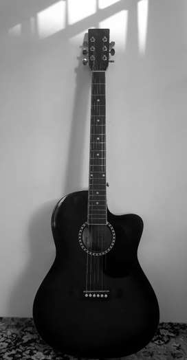 ACOUSTIC GUITAR ( KAPS ST-10 AC) RED WINE