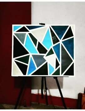 Geometrical Abstract Painting