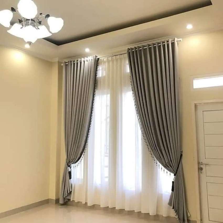 Pesan Gorden Gratis Pasang Hordeng Wallpaper Korden Rumah Kantor