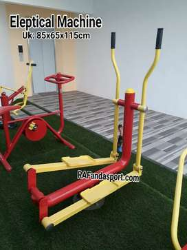 Supplier Alat Fitness Outdoor Taman ( Eleptical Machine)