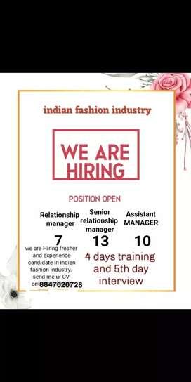 Indian garment fashion industry