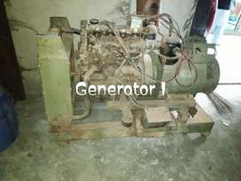 2 Generators available for sale in excellent working condition.