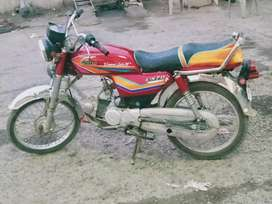 United bike good condition 20000 fixed price no discount or consession