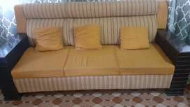 5 seater sofa set with 3 table