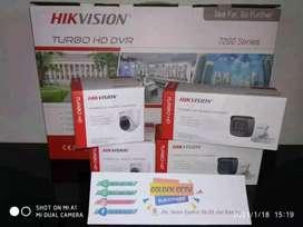 Paket CCTV Spesifikasi full HD 2MP Sudah terbukti kualitasnya