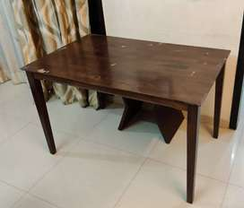 Pure wood table