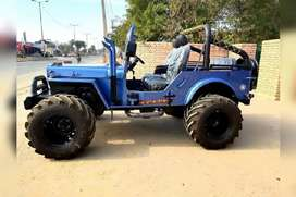 nagar modified jeep
