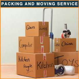 Packing and moving services of household goods