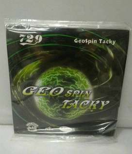 Karet bet bat blade tenis meja pingpong friendship 729 Geo Spin Tacky