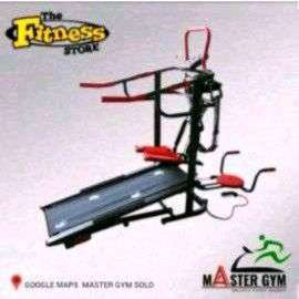 #MasterGymStore Alat Fitness TREADMILL MANUAL Sports Dll (MG ID#970)