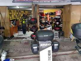 Jual Box Motor givi shad kappa dan Bracket box Visor dan bracket nya