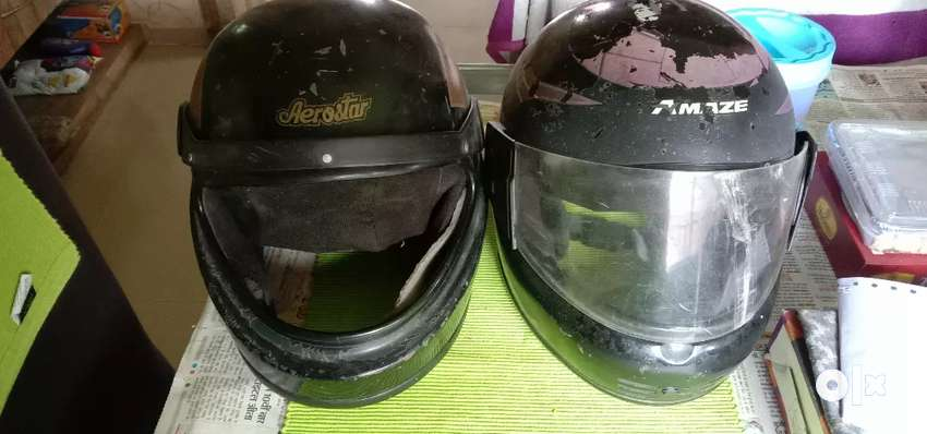 Ready to use helmet's for sell 0