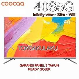 COOCAA LED TV 40 inch Android Smart TV - Wifi - Full HD - Model 40S5G