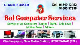 Computers laptops printers chip level servicing