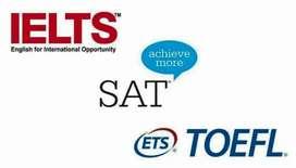 GURU ONLINE Les Private B. Inggris&TOEFL, IELTS, SAT, GMAT&PTE