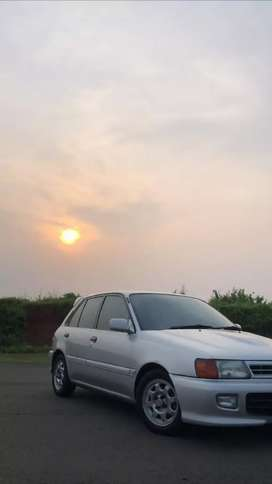 Toyota Starlet turbo look 1.3 SEG top condition original