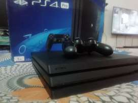ps4 pro 1tb with warranty and latest games