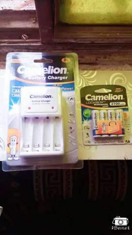Camelion Charger and Rechargeable Cells