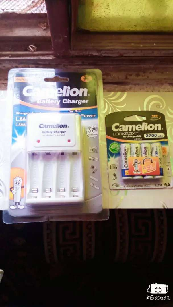 Camelion Charger and Rechargeable Cells 0
