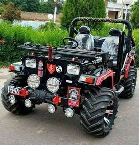 new madified mahindra willy jeep full power