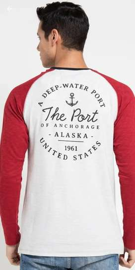 X8 Donald Tshirt Original - Kaos Reglan lengan panjang