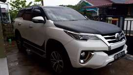 Toyota Fortuner 2.4 VRZ A/T  Double Gardan (4x4) th 2017 plat KB
