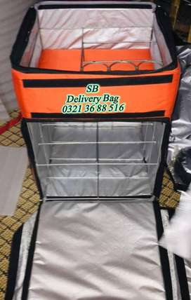 Pizza , Burger & other food home delivery bags , pizza oven equipment