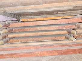 2 Piasala wood bed