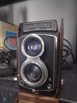 Jual kamera rollei cord dengan leather case