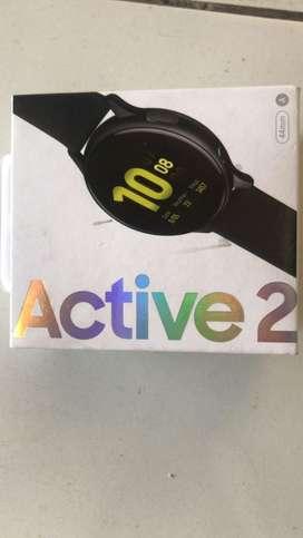 NEW Samsung Galaxy Watch Active2 44mm Aqua Black