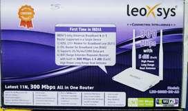 LeoXsys wifi router/ modem
