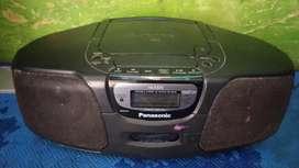 Radio caset cd porteble