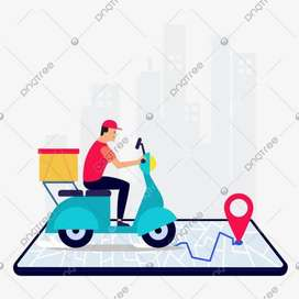 Wanted to required a food delivery boys in Kothagudem