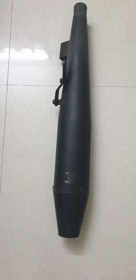 Royal Enfield silencer from Wild Boar