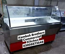 Meat Chiller Display Counter.6x3x5. Cooling unit and Digital Meter.