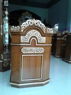 Mimbar masjid al alim