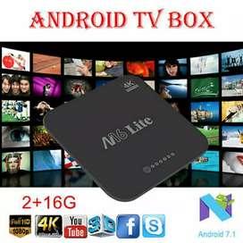 M16 Lite TV Box Allwinner H3 Android 7.1 2GB RAM 16GB ROM Full App