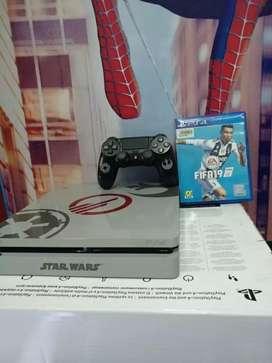 PS4 SLIM Spesial edisi satar wars