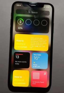 IPhone x black colour