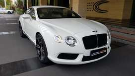Bentley Continental GT 2013 white 4.0