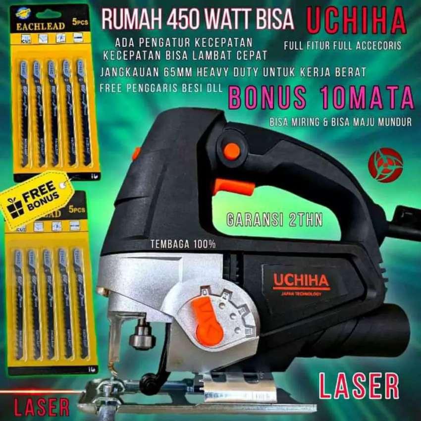 Heavy duty extreme fitur laser mesin jigsaw 65mm Uchiha Japan