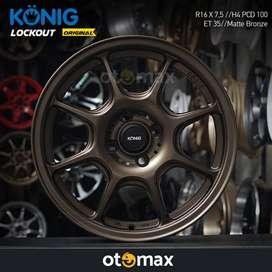 Velg Mobil Konig Lockout (WSS23) Original Ring 16 Matt Bronze