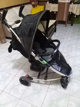Stroller baby elle plus car seat