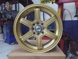 READY VELG HSR TERBARU TYPE MINAS R15 WARNA GOLD