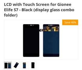 Gionee s7 elite original folder with battery