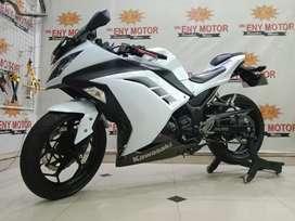 05¶ Kawasaki Ninja 250fi th 2013 Non ABS Putih Mantab - Eny Motor