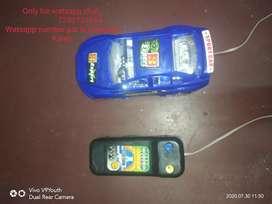 Remote toy car