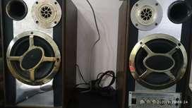 Speaker / salon jadul nge-bass