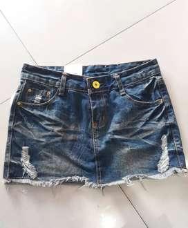 Rok Mini Jeans/Skirt